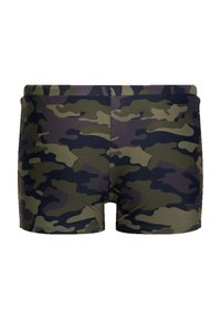 WE Fashion - Swimming briefs - army green - 2