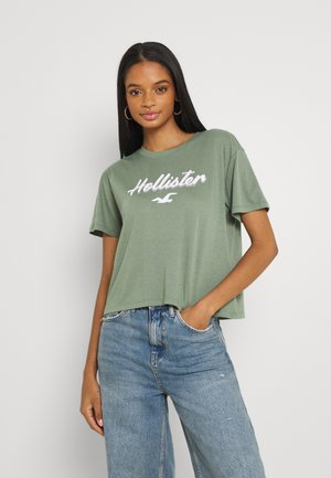 HERITAGE TEE - T-shirts med print - green