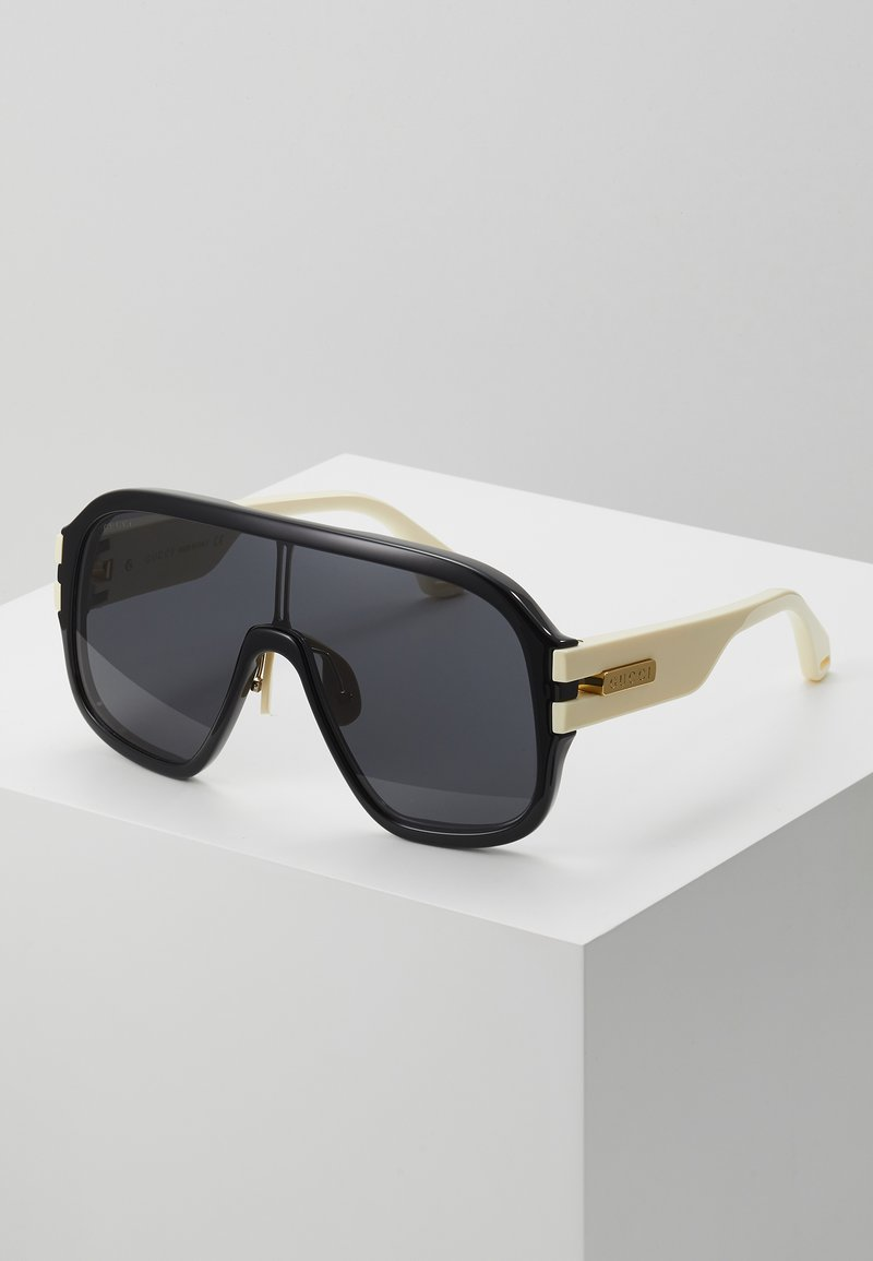 Gucci - Sunglasses - black/ivory/grey