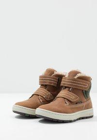 Lurchi - DIEGO-TEX - Zimní obuv - tan - 3