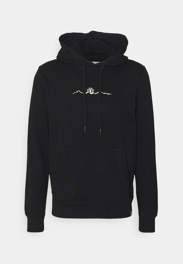 PEANUTS TREKKING - Sweatshirt - flint black