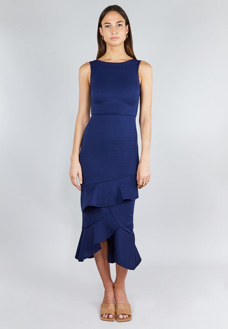 True Violet - FRILL LAYER  - Cocktail dress / Party dress - dark blue