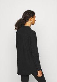 Vero Moda - VMMILA LONG - Button-down blouse - black - 2
