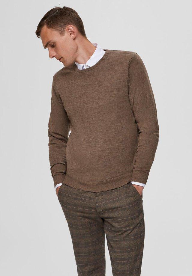 SLHTOWER - Pullover - teak