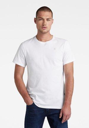 T-shirt - bas - white/mazarine blue