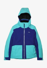 Kjus - GIRLS ARINA JACKET - Ski jacket - wintersky/my sea - 4