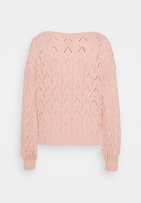 ONLY Tall - ONLBRYNN LIFE PULLOVER - Strikkegenser - rose smoke - 1