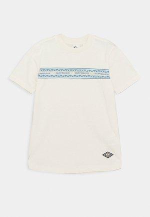 MIXTAPE YOUTH - Camiseta estampada - snow white
