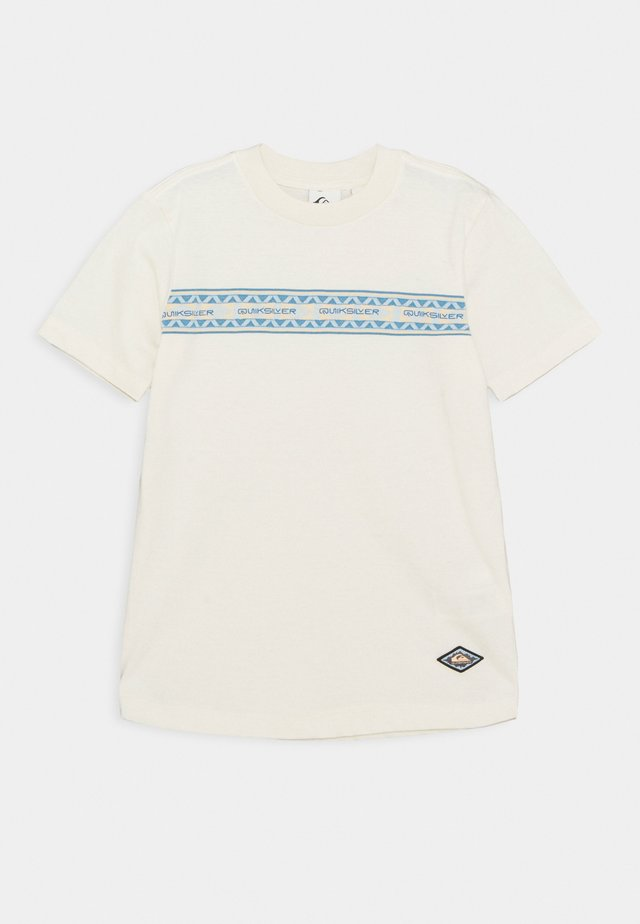 MIXTAPE YOUTH - T-shirt con stampa - snow white