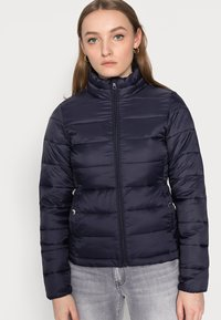 ONLY Petite - ONLSANDIE QUILTED JACKET - Light jacket - night sky - 3