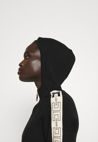 Elisabetta Franchi - Zip-up sweatshirt - nero/burro - 3