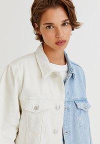 PULL&BEAR - Denim jacket - white - 9