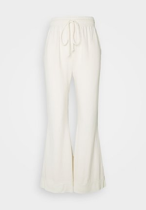 COZY COOL LOUNGE PANT - Tracksuit bottoms - ivory