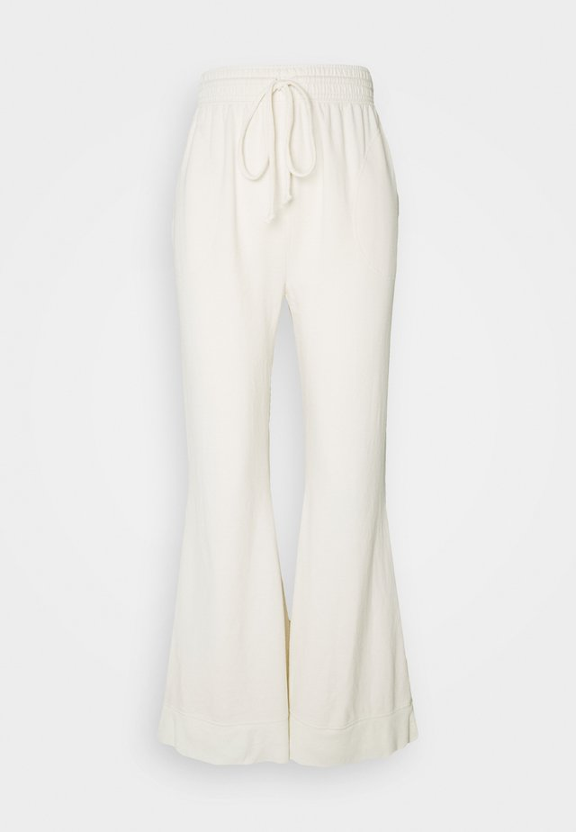 COZY COOL LOUNGE PANT - Träningsbyxor - ivory