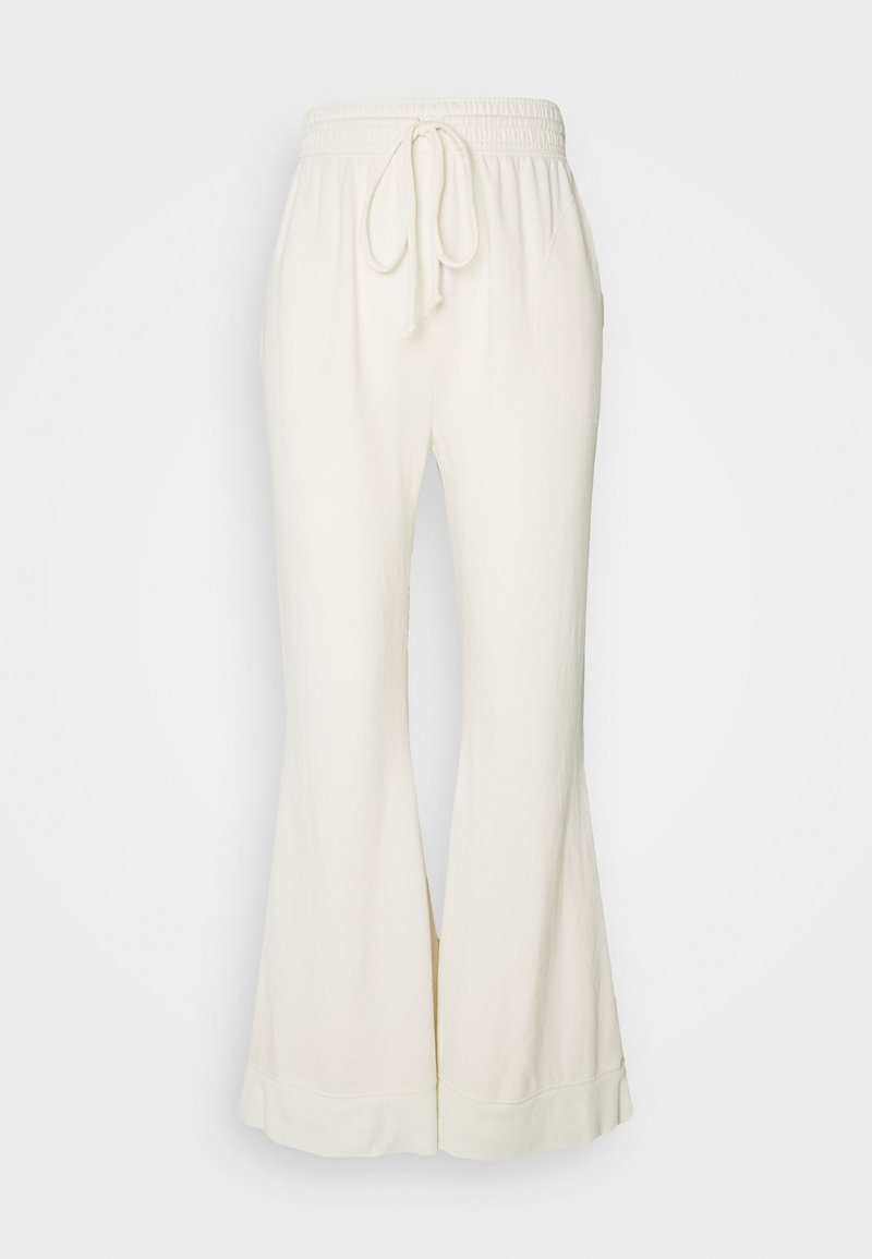 Free People - COZY COOL LOUNGE PANT - Tracksuit bottoms - ivory