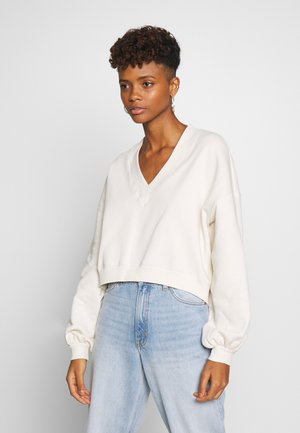 STELLA - Sweatshirt - white dusty