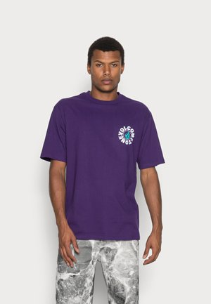 NAUSEA  - Print T-shirt - violet indigo