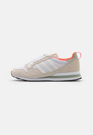 ZX 500 UNISEX - Zapatillas - offwhite/footwear white/halo green