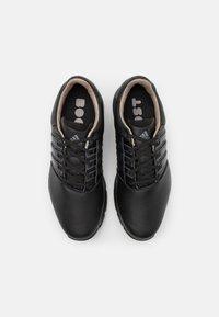 adidas Golf - TOUR360 BOOST SPORTS GOLF SNEAKERS SHOES - Golfové boty - core black/iron metallic - 3