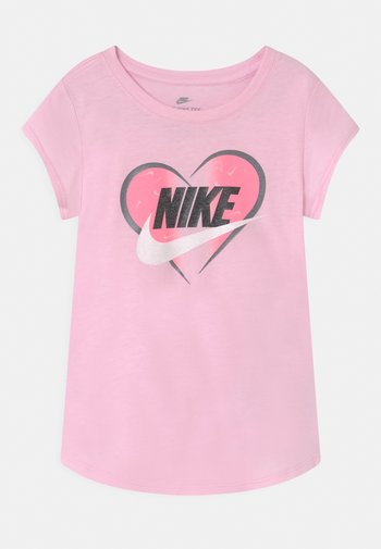 SEASONAL HEART - Camiseta estampada - pink foam