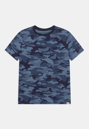 BOY  - Print T-shirt - blue
