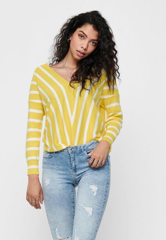 Jersey de punto - lemon drop