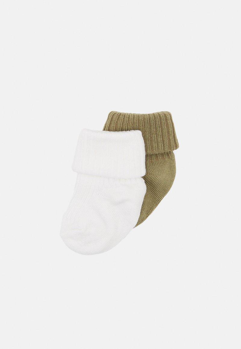 MP Denmark - BABY SOCKS 2 PACK UNISEX - Socks - snow white