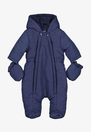 MIT KAPUZE UND HANDSCHUHEN N - Snowsuit - nachtblau