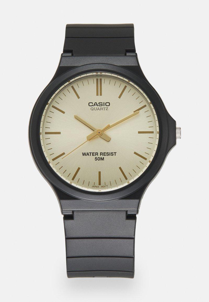 Casio - UNISEX - Watch - black/gold-coloured