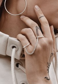 No More - CHAINED RINGS - Ring - silver - 2