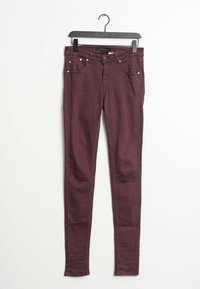 Victoria Victoria Beckham - Slim fit jeans - red - 0