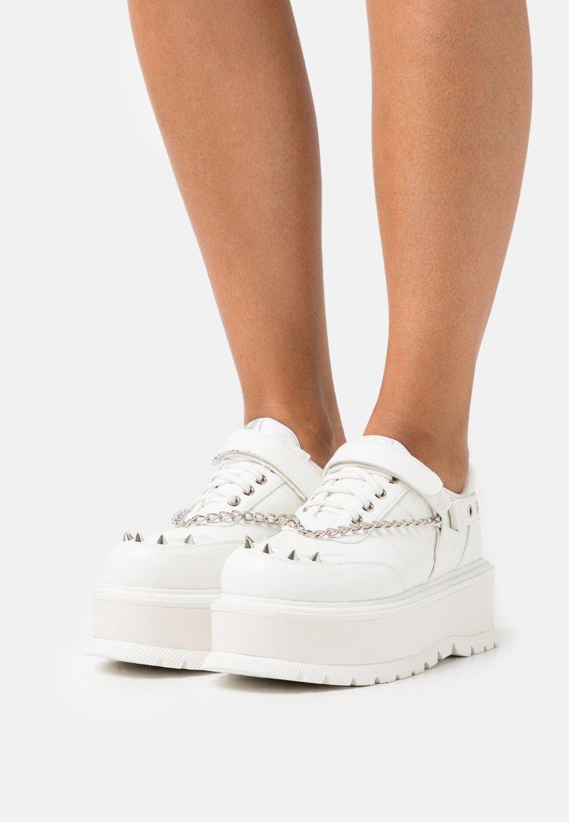 Koi Footwear - VEGAN RETROGRADE - Derbies - white