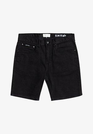 VOODOO SURF - Denim shorts - black black