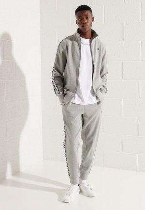 CODE TAPE - Training jacket - grey marl
