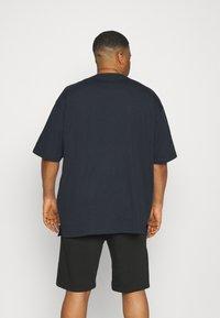 Shine Original - OVERSIZED TEE BIGUNI - T-shirt - bas - navy - 2