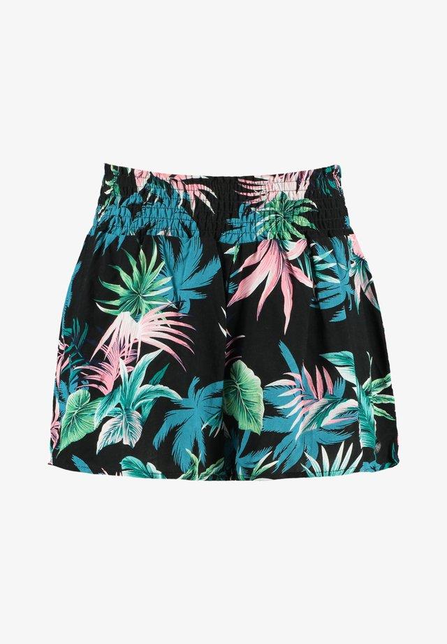 NADINE JR - Shorts - flower black