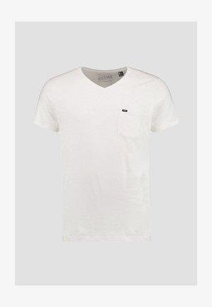 JACK'S BASE  - T-shirt basique - powder white