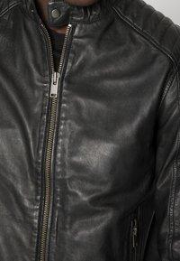 Selected Homme - RACER - Skinnjacka - black - 4