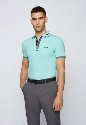 PAULE  - Polo shirt - open blue