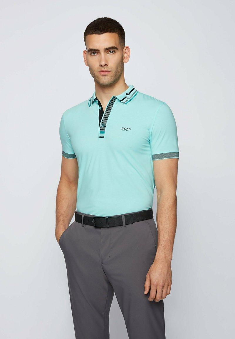 BOSS - PAULE  - Polo shirt - open blue