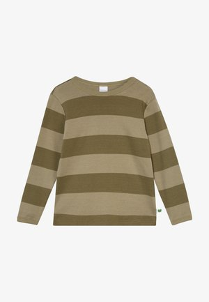 STRIPE  - Long sleeved top - dream moss