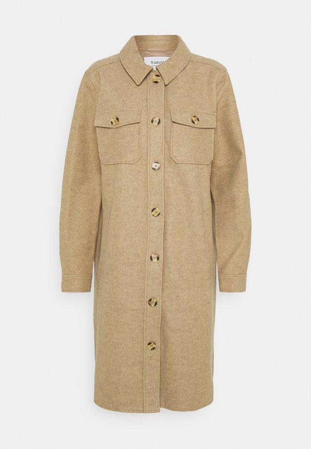 BYASJA OVER - Classic coat - sesam melange