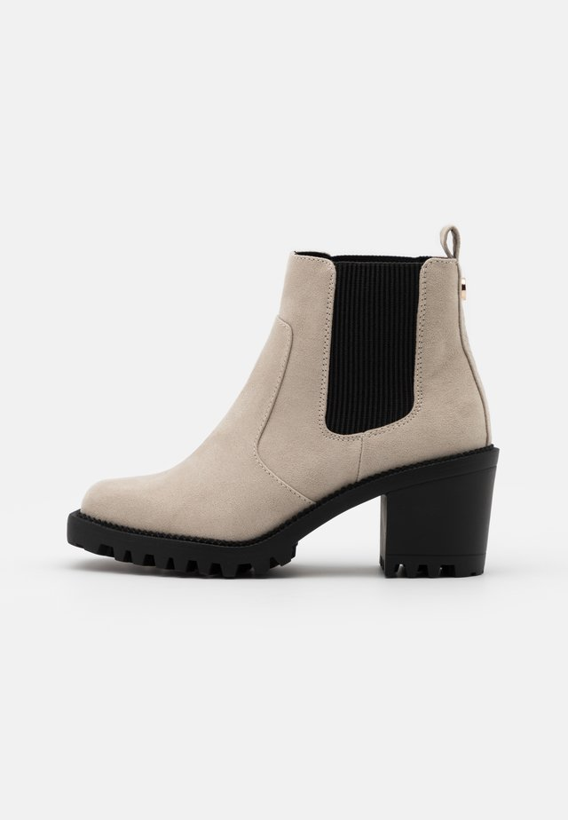Classic ankle boots - beige light