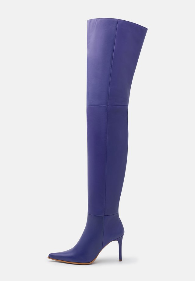 TIA THIGH POINT BOOT - Muszkieterki - purple