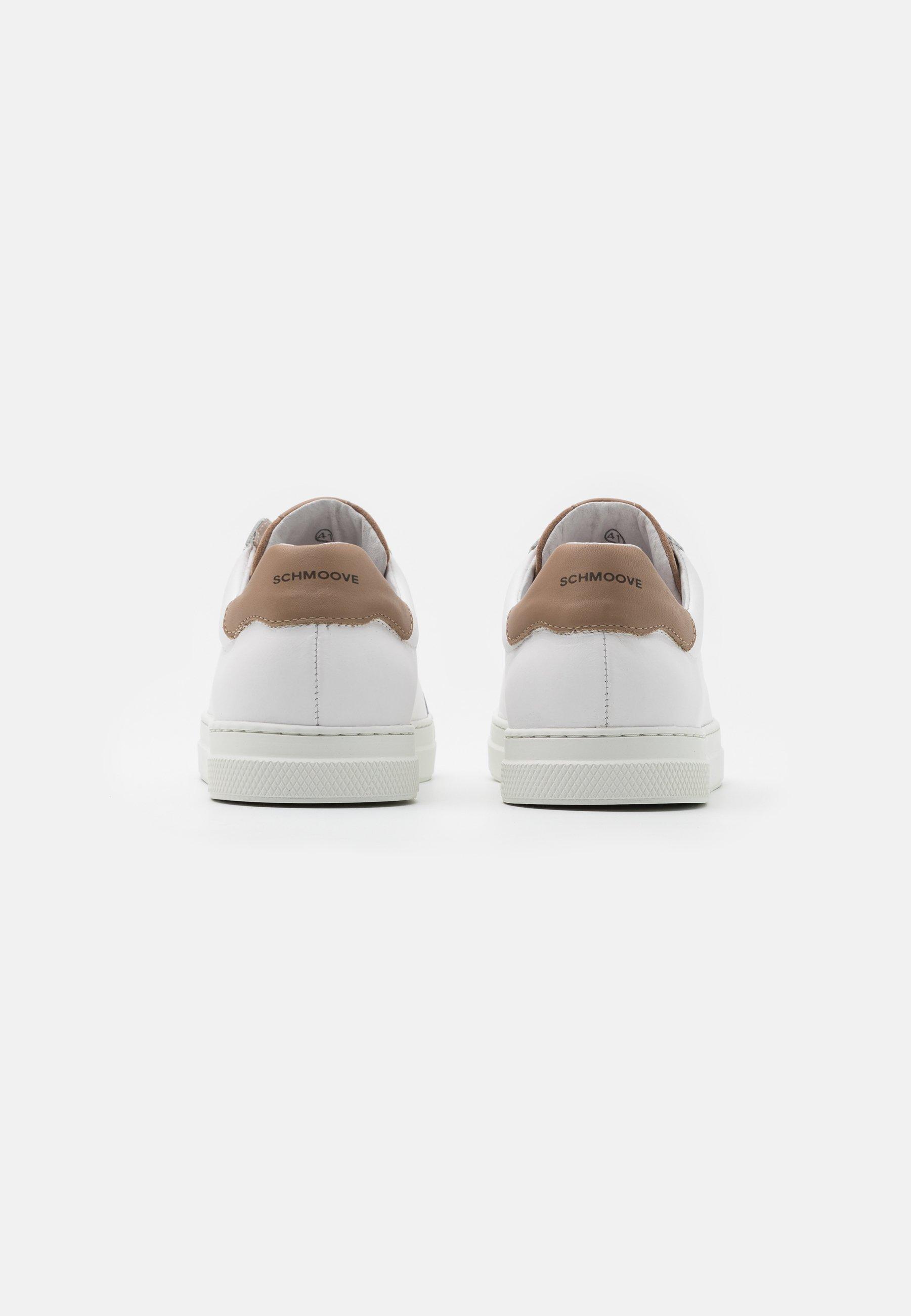 Schmoove SPARK CLAY - Sneaker low - white/beige/weiß - Herrenschuhe ZgoJU