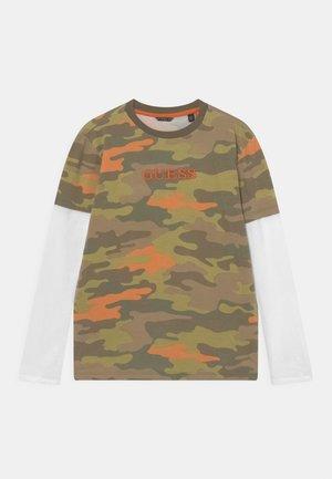 JUNIOR - Camiseta de manga larga - olive