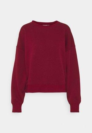 RUBI - Sweatshirt - red rhubarb