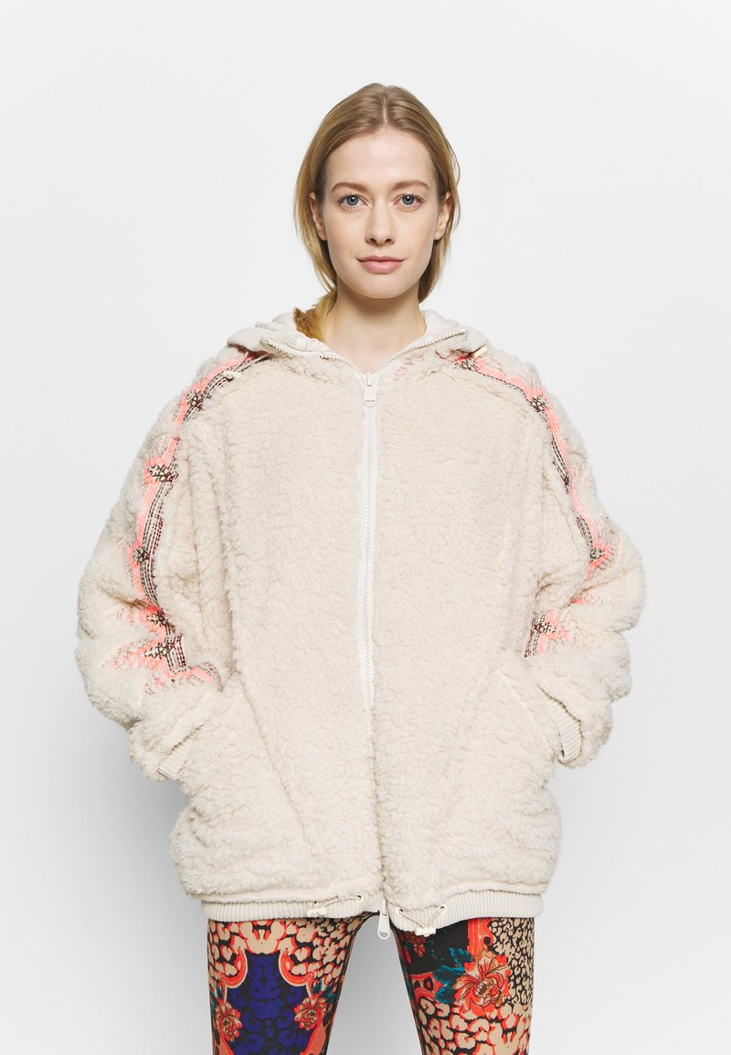 Free People - LODGE LIVIN JACKET - Training jacket - natural/pink combo