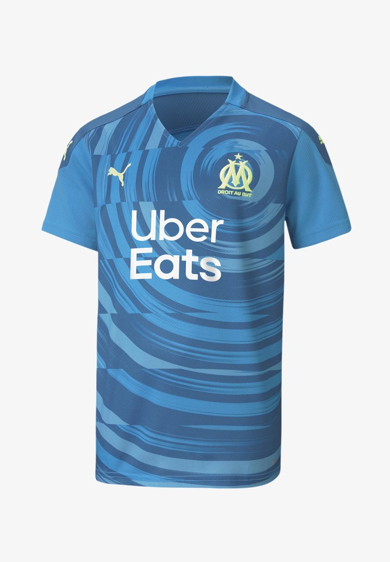 Puma - OLYMPIQUE DE MARSEILLE THIRD REPLICA YOUTH - Club wear - bleu azur-vallarta blue
