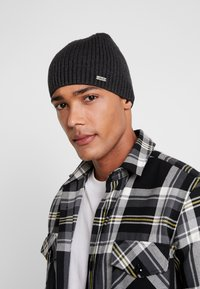 Chillouts - JOSEPH HAT - Beanie - dark grey - 1